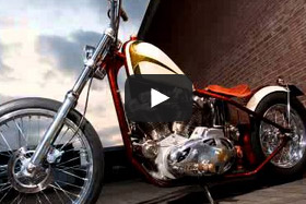 ironpit kustom bike build up